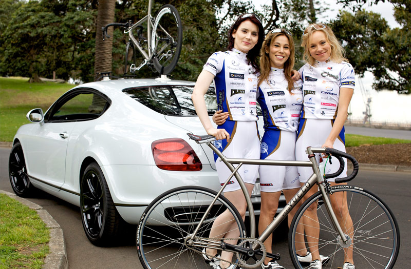 Beautiful Cycling Females