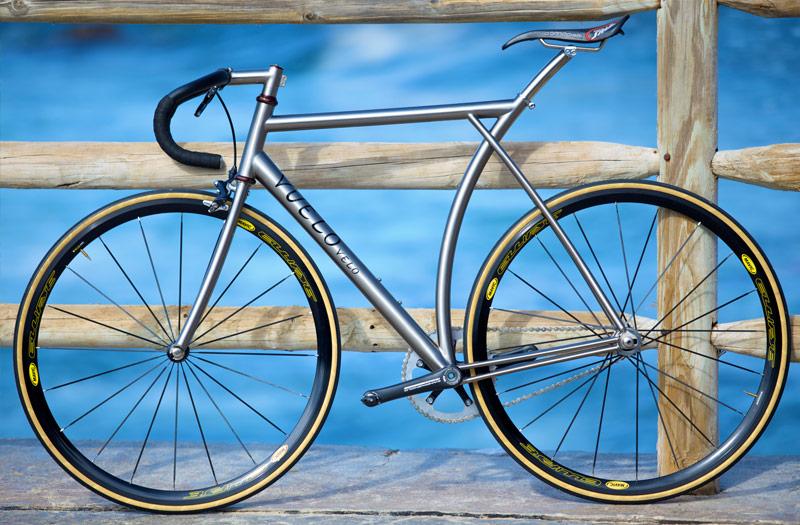 Titanium Track Bike